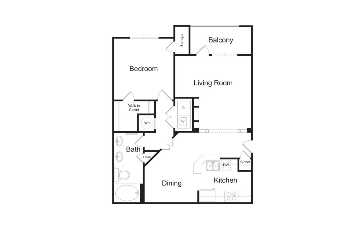 Lenox iv 1 2 3 bedroom apartments for rent at avana for The lenox floor plan